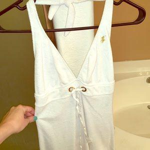 Polo Terri cloth swimsuit coverup